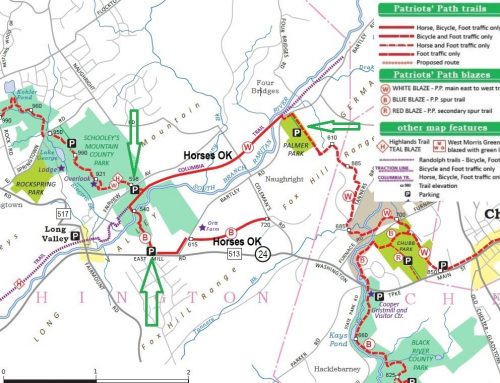Suggested Equestrian Trails in Chester