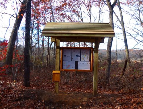 New kiosks along Patriots Path in Chester