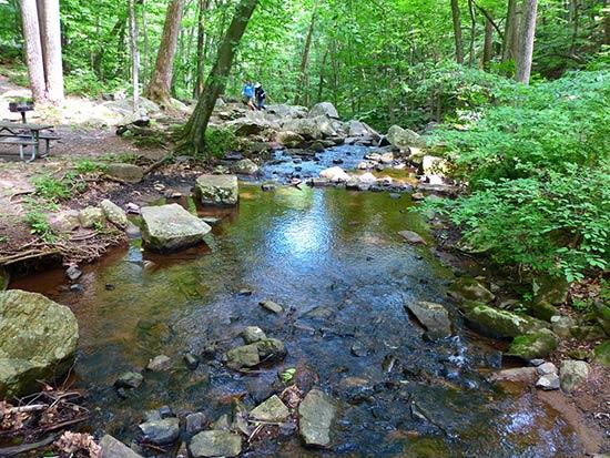Hacklebarney State Park Chester Trails
