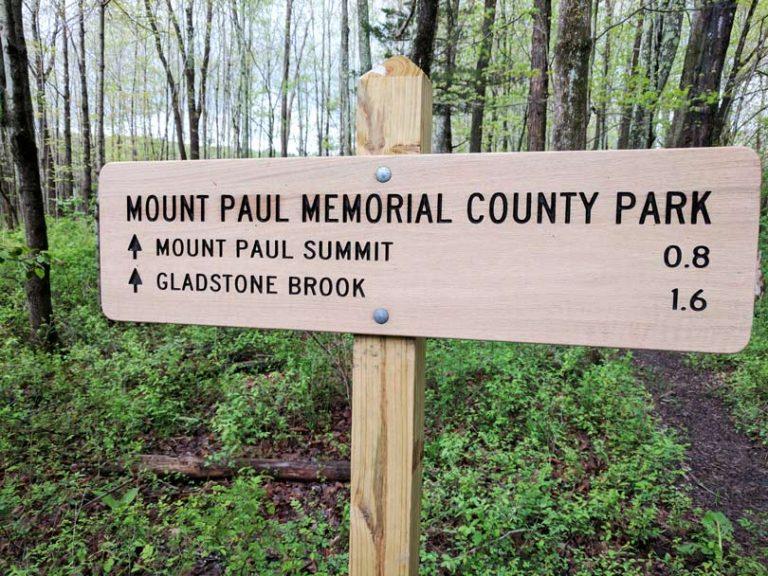 Mount Paul Memorial Park Chester Trails